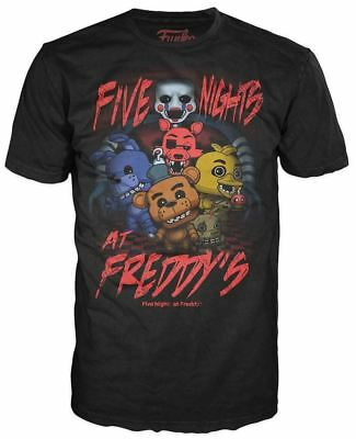 Funko POP! Tees: Five Nights At Freddys Group - Kid's (S) Graphic T-Shirt NEW