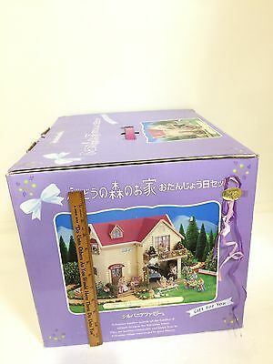 2002 Sylvanian Families JP (Calico Critters) Special Edition Grape House w/Box