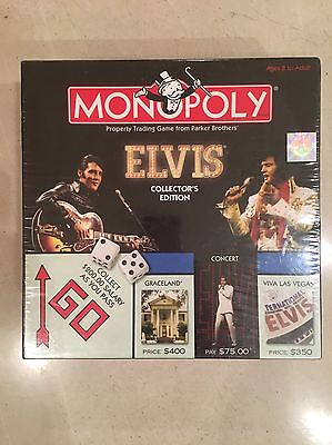 Elvis Monopoly Collectors Edition (Parker Brothers) Brand New Factory Sealed