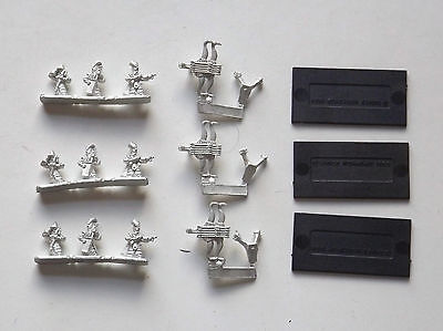 Warhammer Warmaster- 3x High Elves Bolt Throwers. Metal. OOP