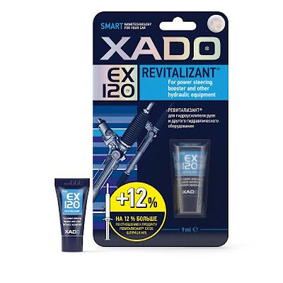XADO EX120 Revitalizant for power steering booster hydraulic 9 ml