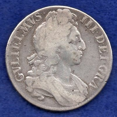 Great Britain, William III, 1696 Crown (Ref. c3646)