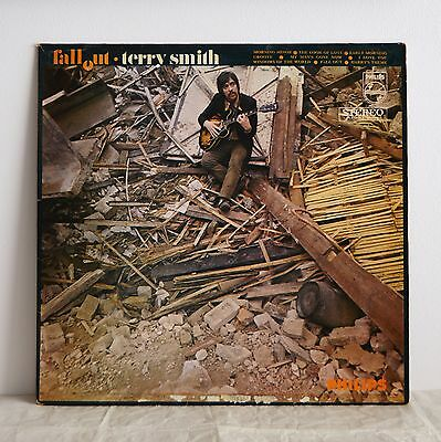 TERRY SMITH Fall Out ORIG UK PHILIPS LP '68 Rare Brit Jazz KENNY WHEELER etc