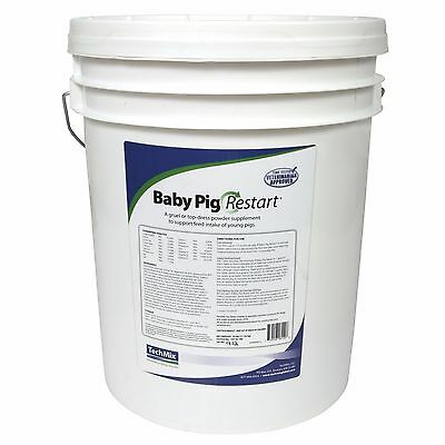 TECH MIX BABY PIG RESTART Contains Milk & Energy Sources Feed or Gruel Mix 25lbs