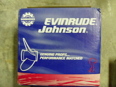 Evinrude/Johnson 13.88 x 19 Painted Stainless Prop