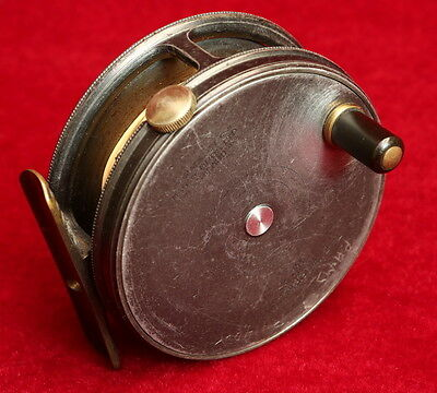 "3 1/8"" Hardy Perfect Fly Fishing Reel."