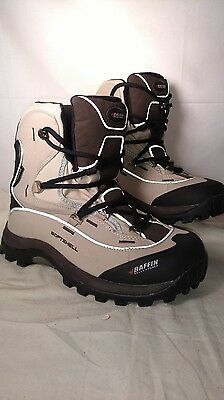 Womens BAFFIN SNOSPORT softshell waterproof BOOT/Biege SIZE 7