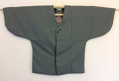 Authentic Japanese grey top jacket for women, silk, Japan import (H980)