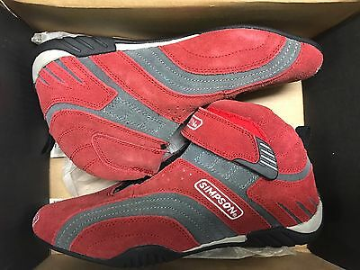 Simpson Fusion Shoe - Red - Size 8-1/2