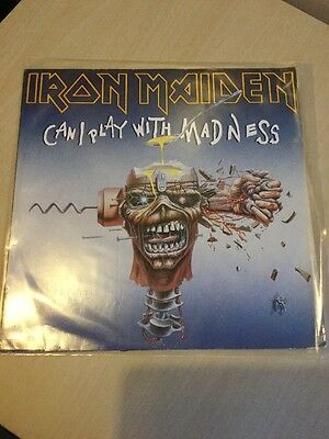 "IRON MAIDEN-Can I Play With Madness 12"" (1988) PERFECT CONDITOIN EMI, EMI EU"