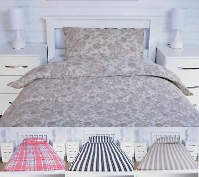 Duvet Cover Set Quilt Bed Set with Pillow cases Single Double King Size Bedding