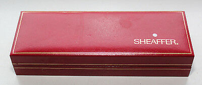 Shaeffer White Spot Pen and Pencil set, boxed in brushed stainless steel