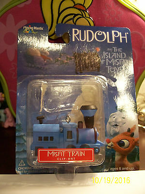 Rudolph And The Island Of Misfit Toys Train Christmas Ornament