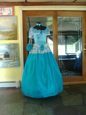 NWT Aqua Southern Belle Ball Gown Size L
