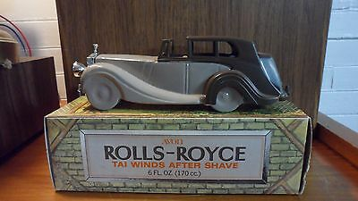 Avon Rolls-Royce Collectable Car with Tai Winds After Shave