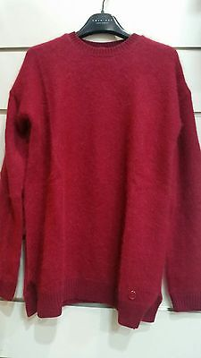 Maglione bordeaux Twin-Set di Simona Barbieri