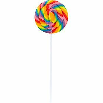 Large Swirl Lollipops (12 Ct ) - Party Supplies