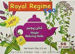 2 packet Royal Regime herbal slimming Tea For Weight Loss - Pack of 50 each