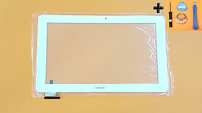 Weiß Touchscreen Digitizer Display Glas komp. mit Odys ieos Quad 10 Pro 10,1""