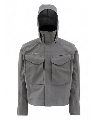 SIMMS Guide Jacket ~ Iron ~ Size Large