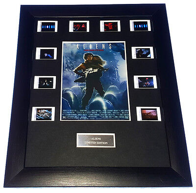 ALIENS 35mm FRAMED AND MOUNTED FILM CELL PRESENTATION