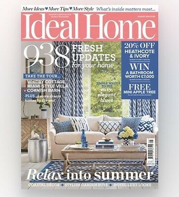Ideal Home Magazine August 2016 (BRAND NEW COPY)