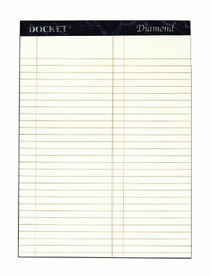 TOPS Docket Diamond 100% Recycled Premium Stationery Tablet, 8-1/2 x 11-3/...NEW