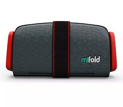 New mifold Grab-n-Go Booster Seat - Black 40 - 100 Lbs