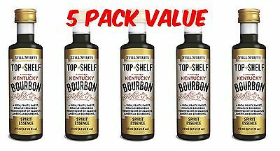 Still Spirits Top Shelf KENTUCKY BOURBON - 5 Pack - Liqueurs, Homebrew