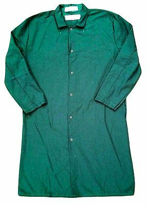 Regent Lab Coats Green Protective Pocketless Gripper Closure (100% Polyester)