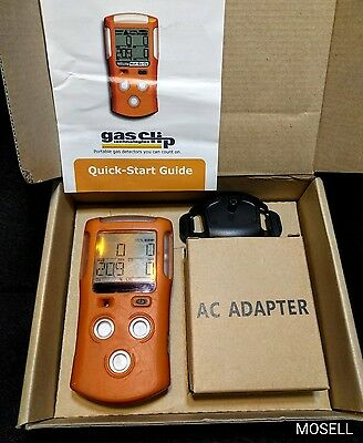 Gas Clip Technologies MGC-IR Gas Detector O2 CO H2S LEL Calibrated