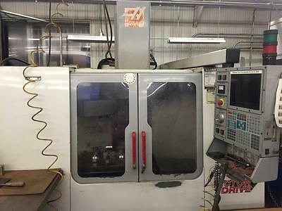 2001 Haas VF-2 CNC Vertical Machining Center Mill Gear Box 4th Ready CT40 used