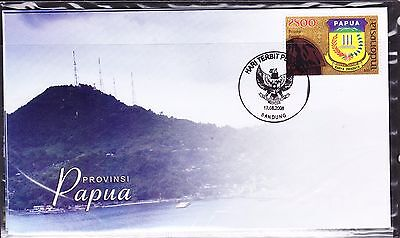 Indonesia 2008 - Provinces - Papua  First Day Cover