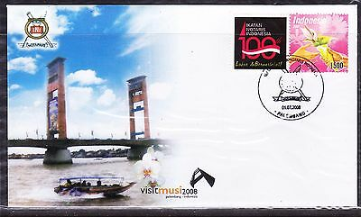 Indonesia 2008 - Visit Musi First Day Cover #2