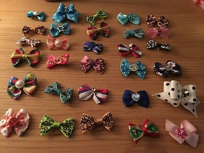 New Pretty Dog & Puppy Hair Bands, Headdress, Grooming Bows, Dog Accessory