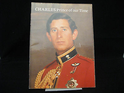 Charles Prince Of Our Time Prince Of Wales Ronald Allison Vintage 1978 Softcover