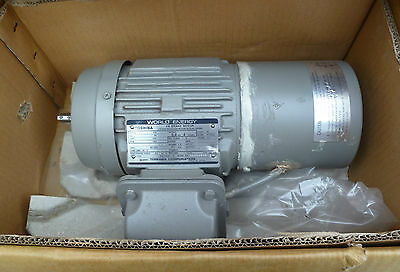 New Toshiba 3 Phase Induction Motors With Ac Break, 4Kw, 1420Rpm