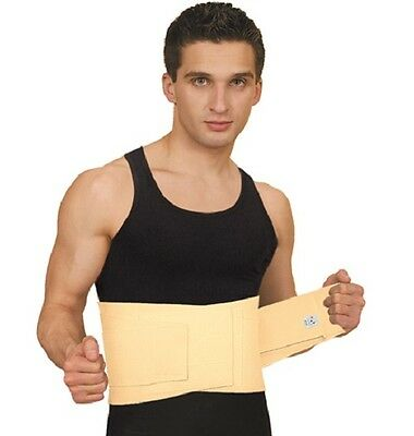 Back Lumbar Support MEDIUM/STRONG Belt with Rigid Stays Side Pulls SCIATICA PAIN