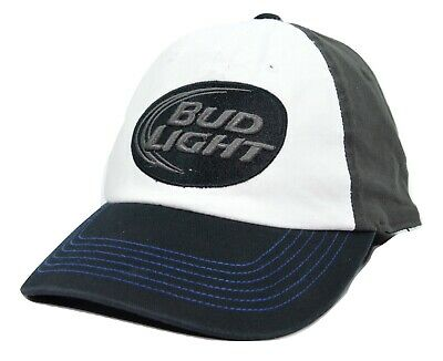 """NW//TAG $20 BLACK BY TOP OF THE WORLD! ADJUSTABLE BUDWEISER /""""KING OF BEERS/"""" HAT"""