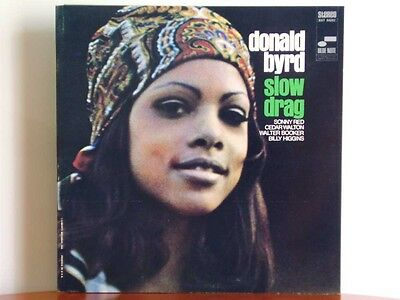 DONALD BYRD Slow Drag - Blue Note BST 84292 mint italy