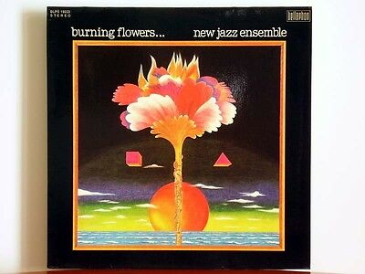 NEW JAZZ ENSEMBLE Burning Flowers - Bellaphon BLPS 19222 Herbert Joos 1975