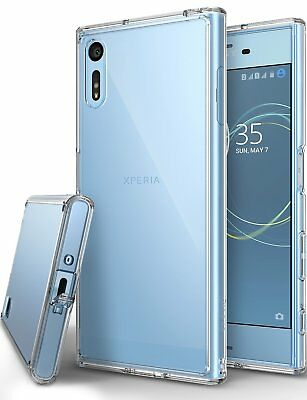 For Xperia XZ/XZs Case | Ringke [FUSION] Transparent Shockproof Protective Cover