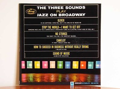 THE THREE SOUNDS Play Jazz On Broadway - Mercury MG 20776
