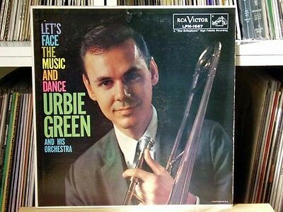 URBIE GREEN Let's Face the Music and Dance - RCA LPM 1667 Al Cohn Gene Quill