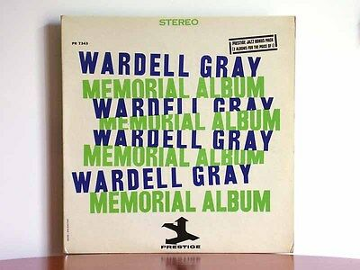 WARDELL GRAY Memorial Album - Prestige PRST 7343 2 LPs Dexter Gordon