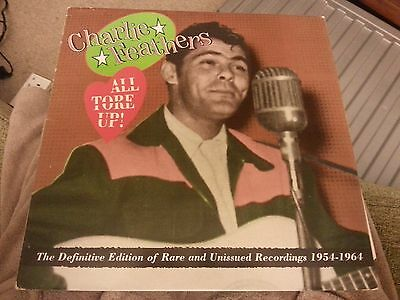 Vinyl - Charlie Feathers - You Tore Up - Rockabilly - Lp Record