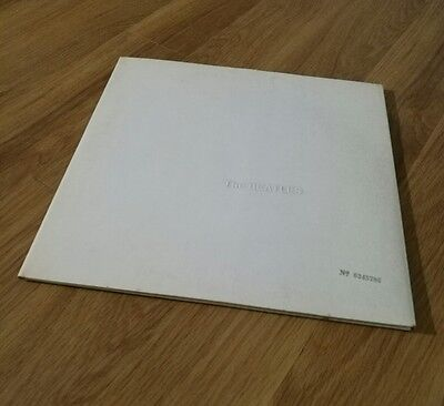 The Beatles White Album Orig Uk First Issue Stereo Toploader Ex Complete
