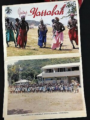 Old Yarrabah Aboriginal Post Cards …beautiful collector's item from the 1950's