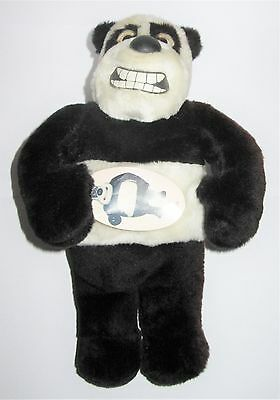 """Creature Comforts Angus The Panda Aardman Plush 13"""" Soft Toy With Tags"""