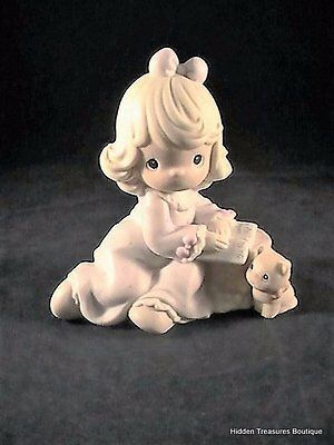 Precious Moments You Fill The Pages Of My Life Porcelain Figurine #530980